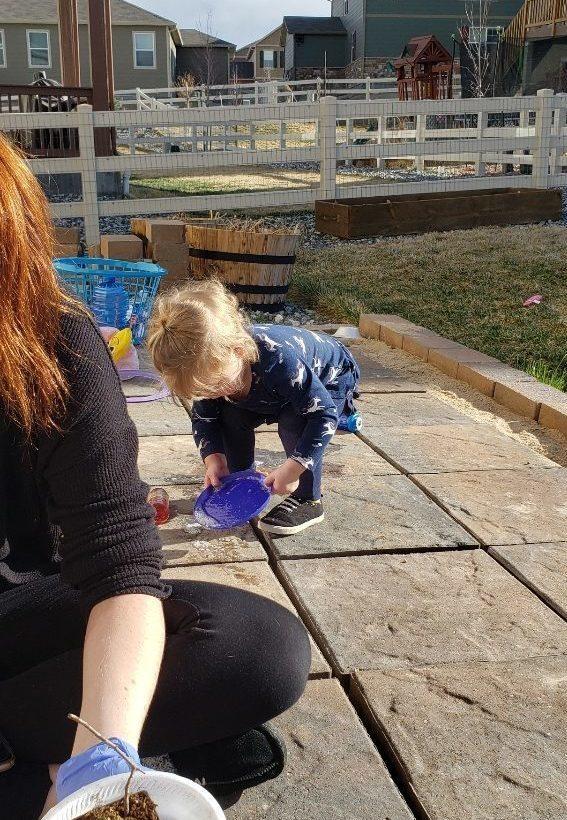 Toddler fun activity